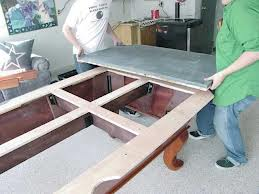 Billiard table moves in Colorado Springs Colorado